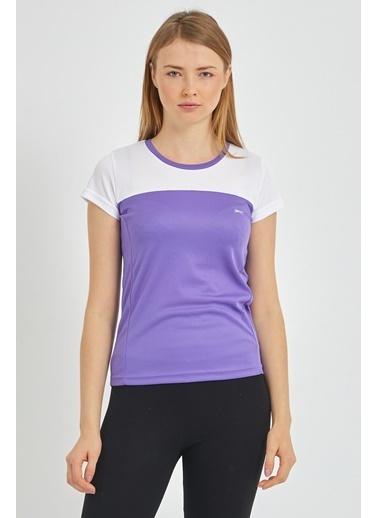 Slazenger Slazenger RANDERS I Kadın T-Shirt  Mor